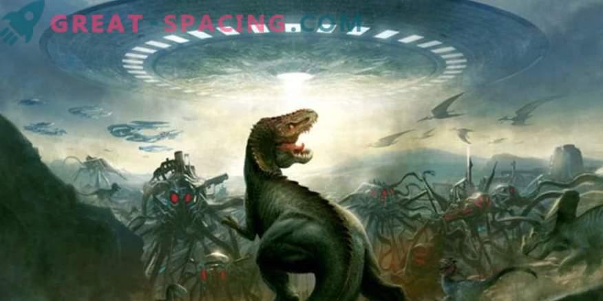 Може ли извънземните цивилизации да видят динозаврите на Земята