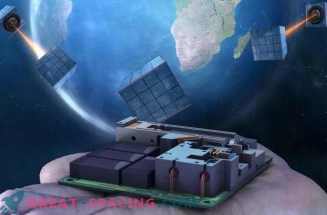 Малкият сателит е първата стъпка към глобалната квантова мрежа