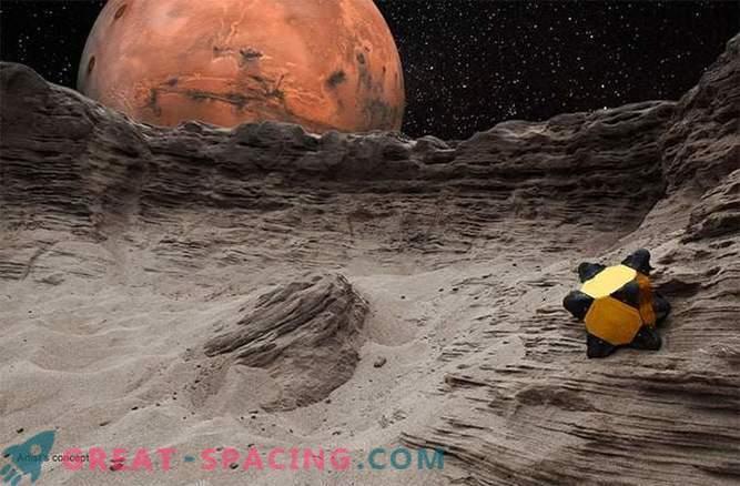 Роботите-таралеж могат да скочат върху слънчевата система