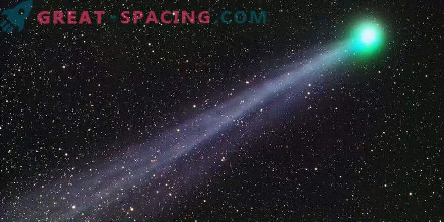 Предупредителната опашка на комета Swift-Tattle
