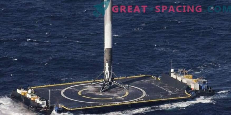 Успешното връщане на SpaceX ракета след военен старт