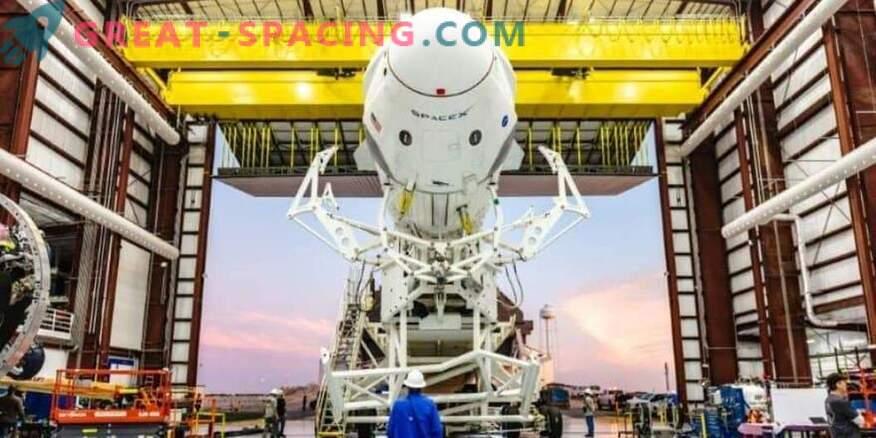 Roheline tuli SpaceX meeskonna kosmoselaeva katsetamiseks