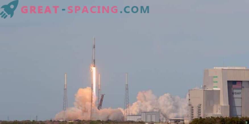 Стартиране на космически кораб