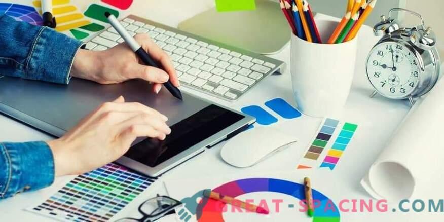 Графичният дизайнер е печеливша професия на 21-ви век.