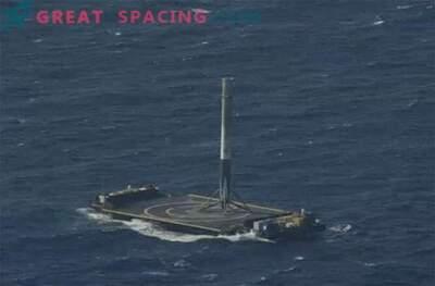 Успех! Ракетата SpaceX Falcon 9 успя да се приземи в океана