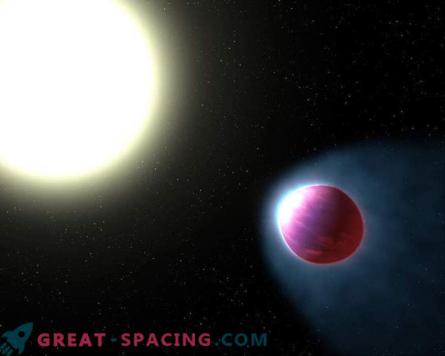 Хъбъл откри екзопланета с водна атмосфера
