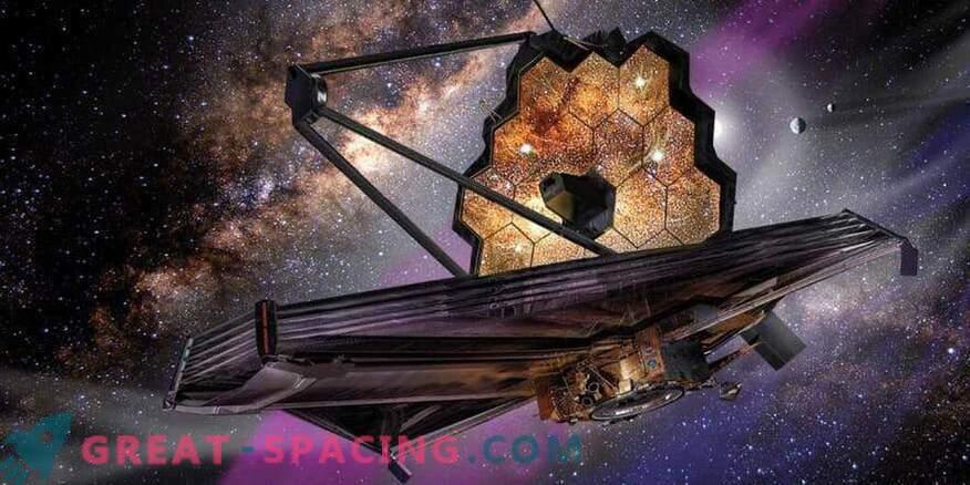 Научните инструменти на телескопа Джеймс Уеб са пристигнали в Калифорния