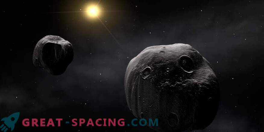Обсерваториите се обединяват, за да изучават редки двойни астероиди