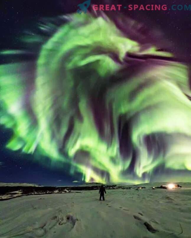 Драконът засия над Исландия