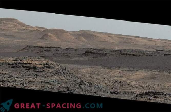 Radovednost, ki raziskuje sipine Marsa: Fotografije
