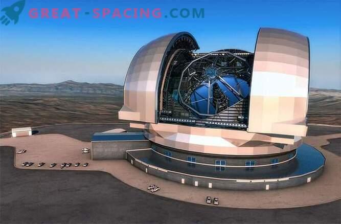 Започна изграждането на най-големия телескоп в света