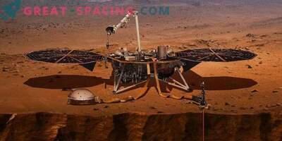 InSight грабва термометър за Марс