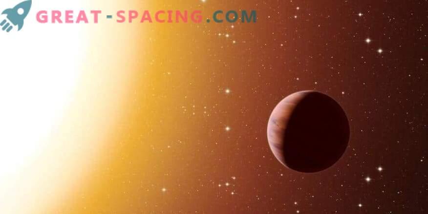 Горещ Юпитер близо до скоростната звезда