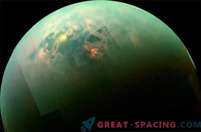 Касини видя слънчев ден в моретата на Титан