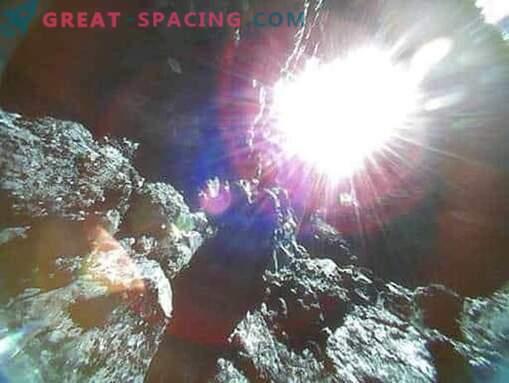 Ryugu астероидна скалиста повърхност в преглед на японските ровери